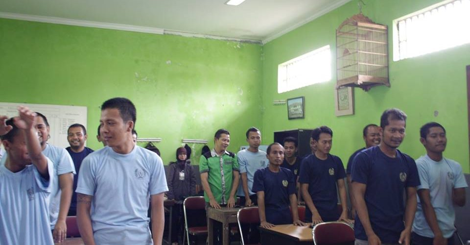 mengisi pelatihan internet di Rutan kelas 2B di Pajangan Bantul,senin 4 Mei 2015, semoga bermanfaat saat nanti keluar dr Lembaga pemasyarakatan
