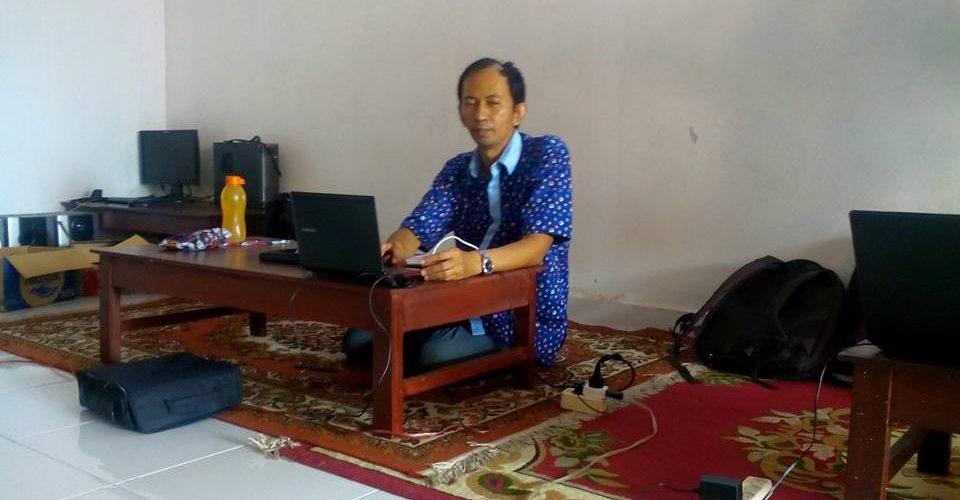 Kelas Mindset Bisnis Online Oleh pak Bagus Imers beliau pengusaha tas rajut di Jogja,27 juli