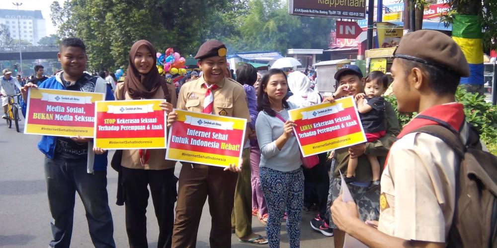 kegiatan di Bandung kampanye Internet sehat