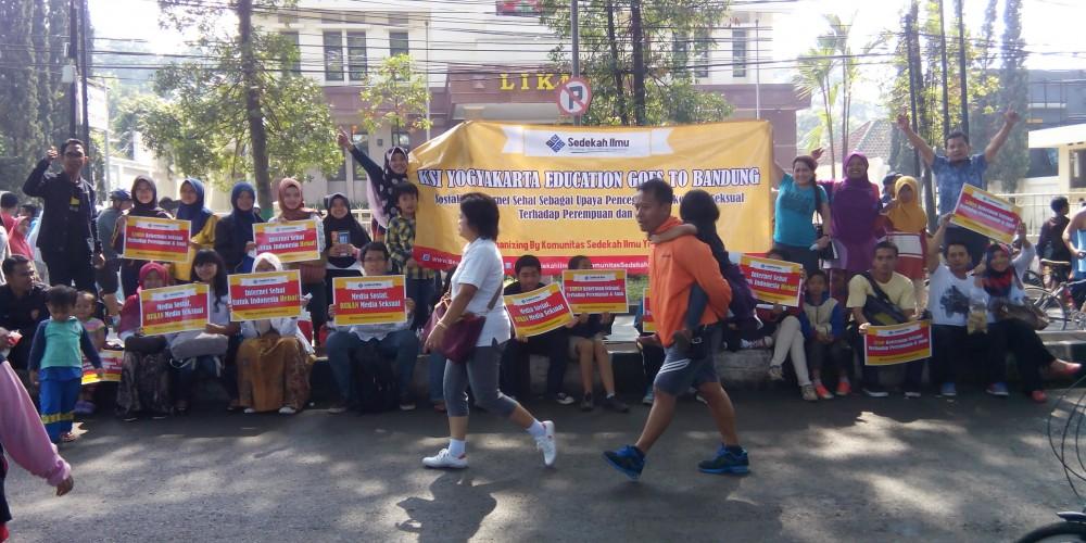 Sedekah Ilmu Jogja Education Goes To Bandung, internet sehat
